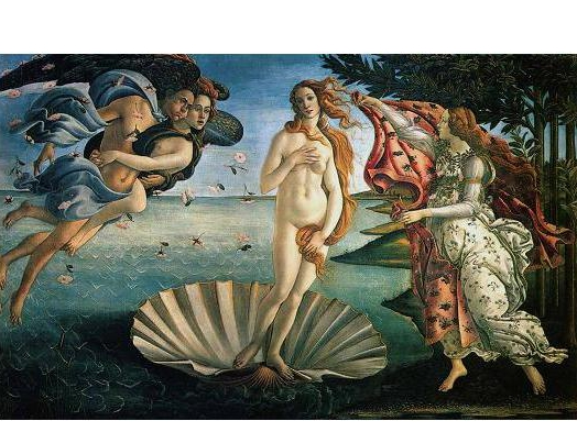 女神アフロディーテの誕生を祝福したバラ~愛と美、幸せを運んでくれるダマスクローズ~