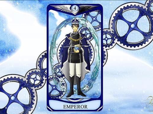 ひみこローズのThe Mirror タロットおそうじ~お部屋はあなたの心の鏡PART.5「EMPEROR 皇帝」