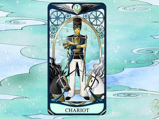 ひみこローズのThe Mirror タロットおそうじ~お部屋はあなたの心の鏡 <br>PART.8「CHARIOT 戦車」