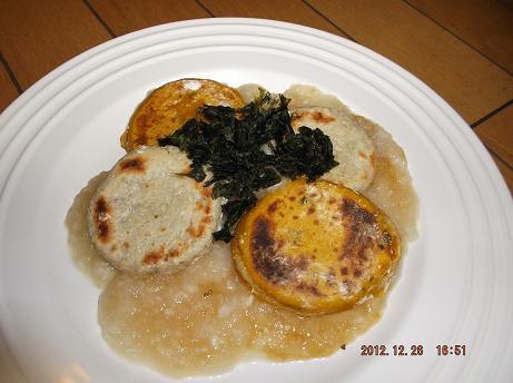 「マクロビオティック・レシピ編」お正月にいかがですか?れんこん団子とかぼちゃ団子+エスニック風なます