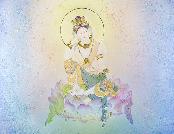 これまでの感謝を込めて―東京ギャラリー最後の個展~草場一壽 陶彩画「弥勒の世界」展