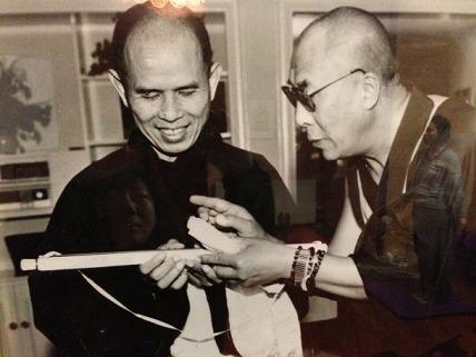 禅の名僧 「ティクナットハン(タイ)」師のリトリートで発見!