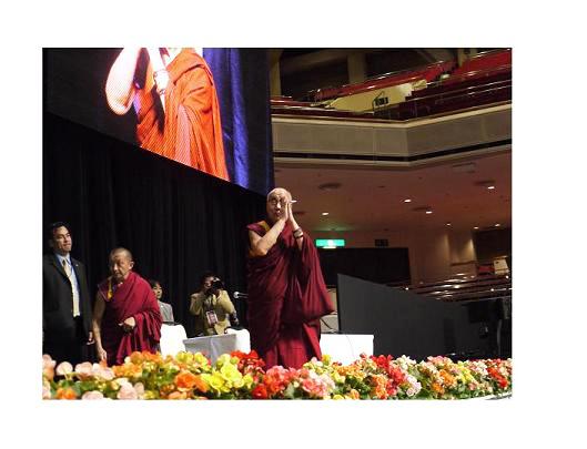心の平和は、優しさと思いやりによって気づくことができる。ダライ・ラマ法王講演レポート