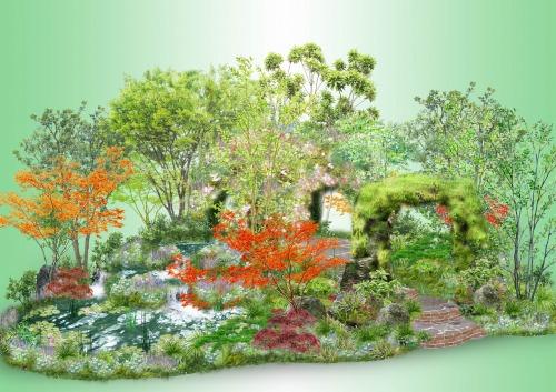 恵比寿ガーデンプレイスを緑で彩る!『20th Anniversary ドリームガーデン』を開催