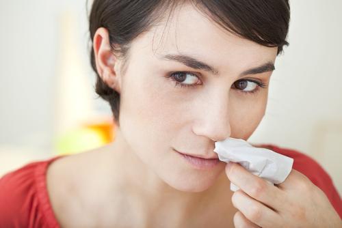 90%は心配ご無用な鼻血ですが、<br>中には恐ろしい病気の場合も……