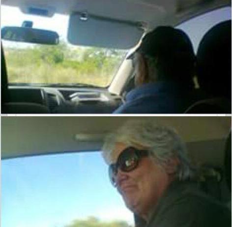 大統領 車内
