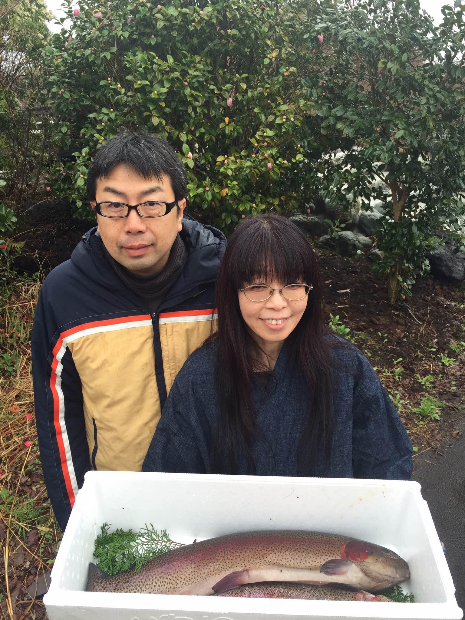 山本先生と記念写真
