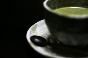 冷たいお茶(抹茶)