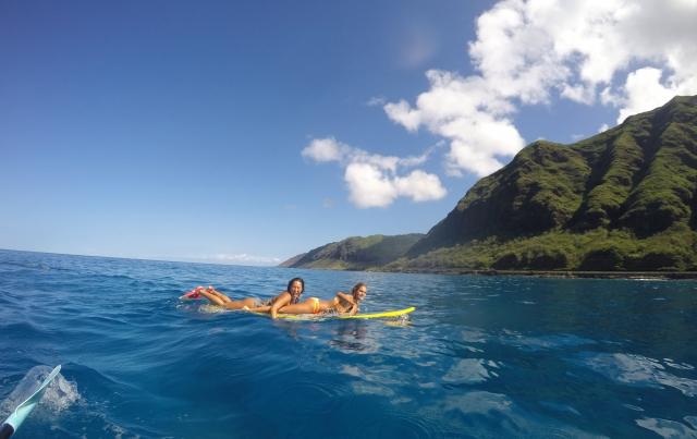 野崎友璃香のハワイアン・オーガニックライフ PART.29 〜夏のハワイはサーフィンで!!〜
