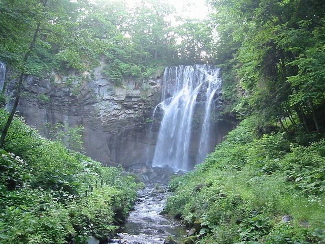 アリシベツの滝