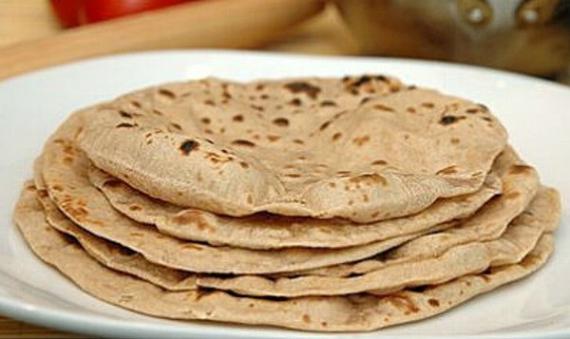 インドの家庭パン、チャパティ