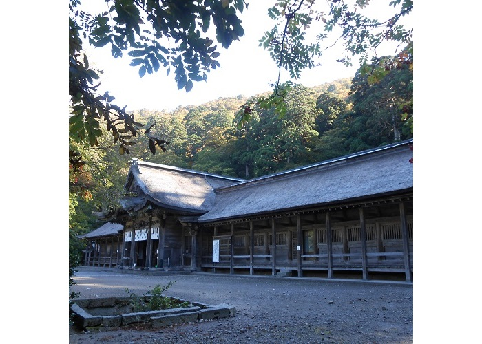 大神山神社拝殿2