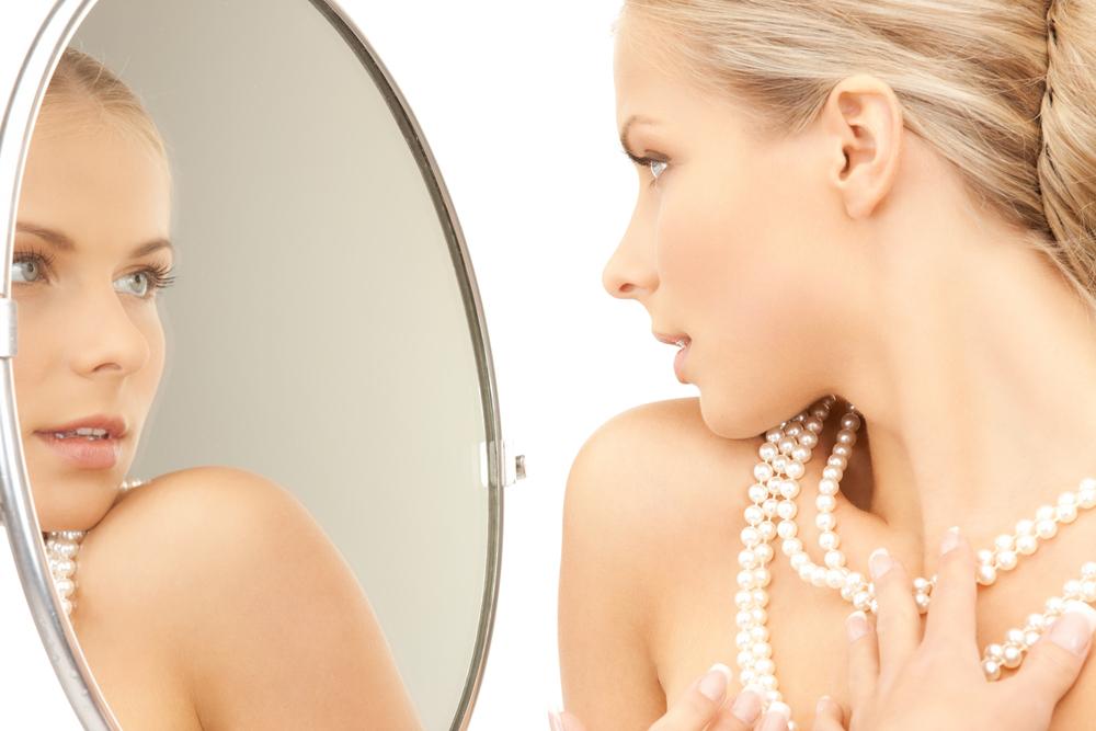 鏡に映る素顔138632486