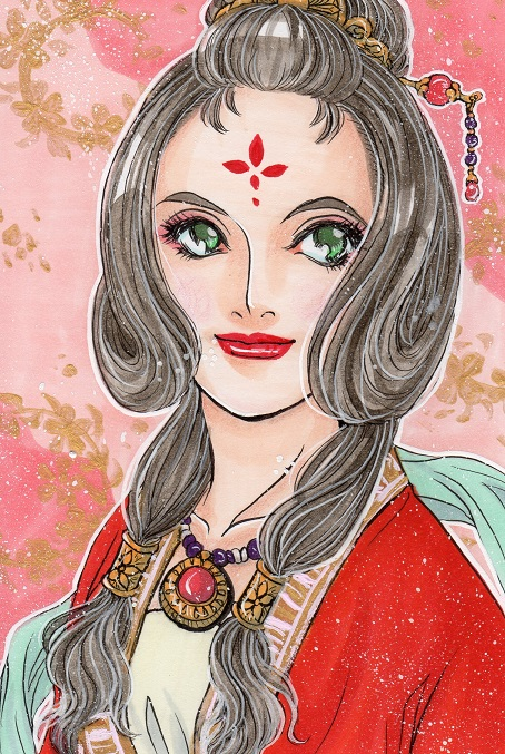 下照姫神イラスト