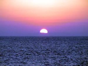 日の出の写真(2)