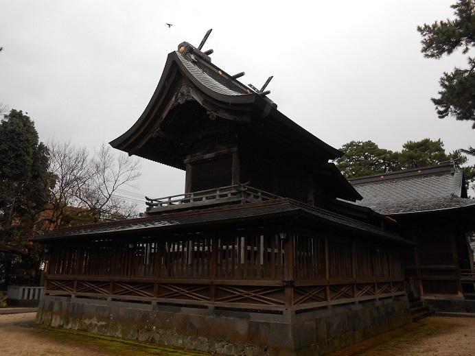 賣布神社本殿