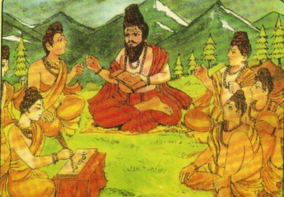 アーユルヴェーダを伝えた古代インドの賢者