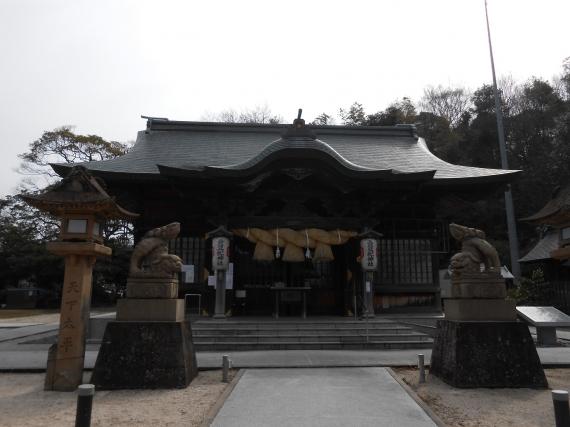 賣豆紀神社拝殿