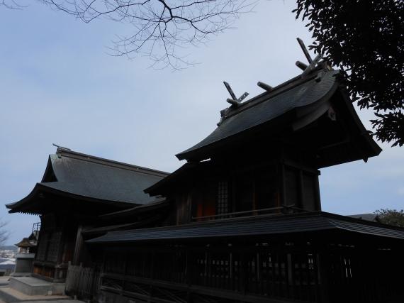 賣豆紀神社本殿