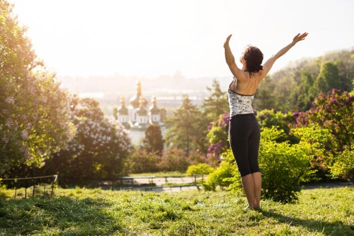 身体の中心を把握することで、姿勢が美しく健康になるだけでなく、霊的な感覚まで開かれる