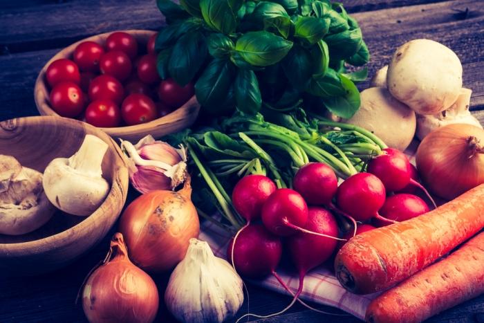 生野菜は酵素や、ビタミンミネラルが豊富!