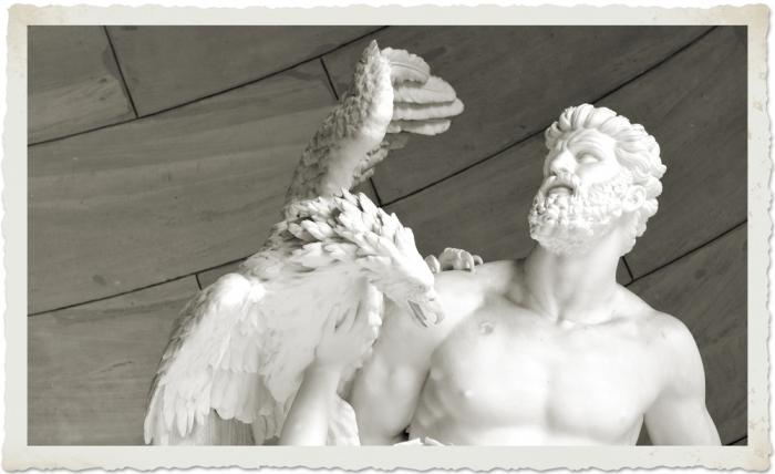 人間の守護者であり、予言の力を持った偉大なる存在プロメテウス