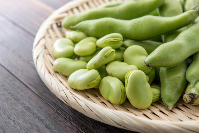 今が旬! そら豆を食べて心も身体も健やかに!