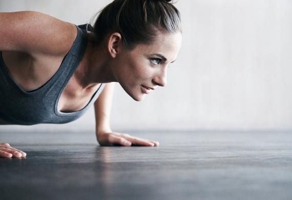 ややハードな運動はカファのいいストレス緩和剤