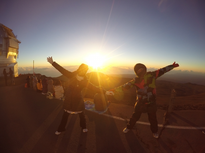 野崎友璃香のハワイアン・オーガニックライフ PART.32〜天国に一番近い聖なる山、マウナケアより〜