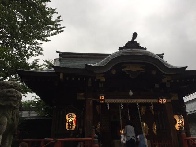 品川区にある三谷八幡神社