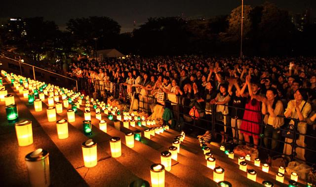 6月19日日曜日。増上寺にてキャンドル・ナイト開催。日本で一番星がキレイな夜!?