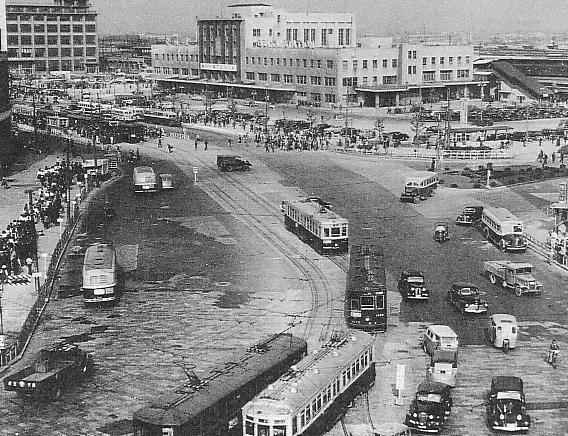 (1950年の大阪駅/画像提供・ウィキペディアより)