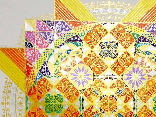《神聖幾何学アート個展》TRINITYにて10月末開催!! ※個展限定スペシャル神聖幾何学アートセッションも同時開催