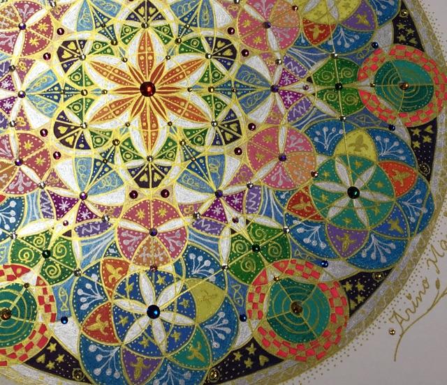 ※限定【神聖幾何学アート】マザーディバイン  〜1/26〜1/29TRINITYにて神聖幾何学個展も開催!!